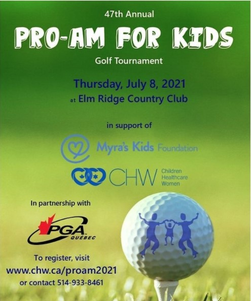 CHW Montreal Presents: 47th Annual Pro-Am for Kids